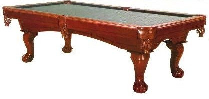 Imports - Simonis pool table felt colors